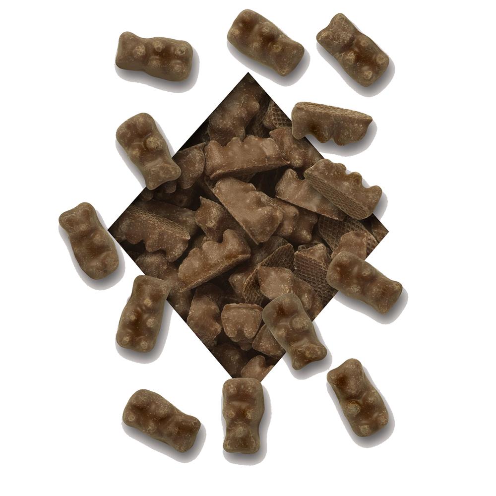 CHOCOLATE GUMMY BEARS