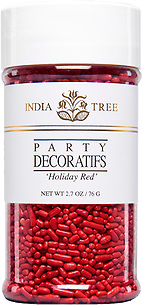 HOLIDAY RED DECORATIFS