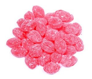 NATURAL RASPBERRY HARD CANDY