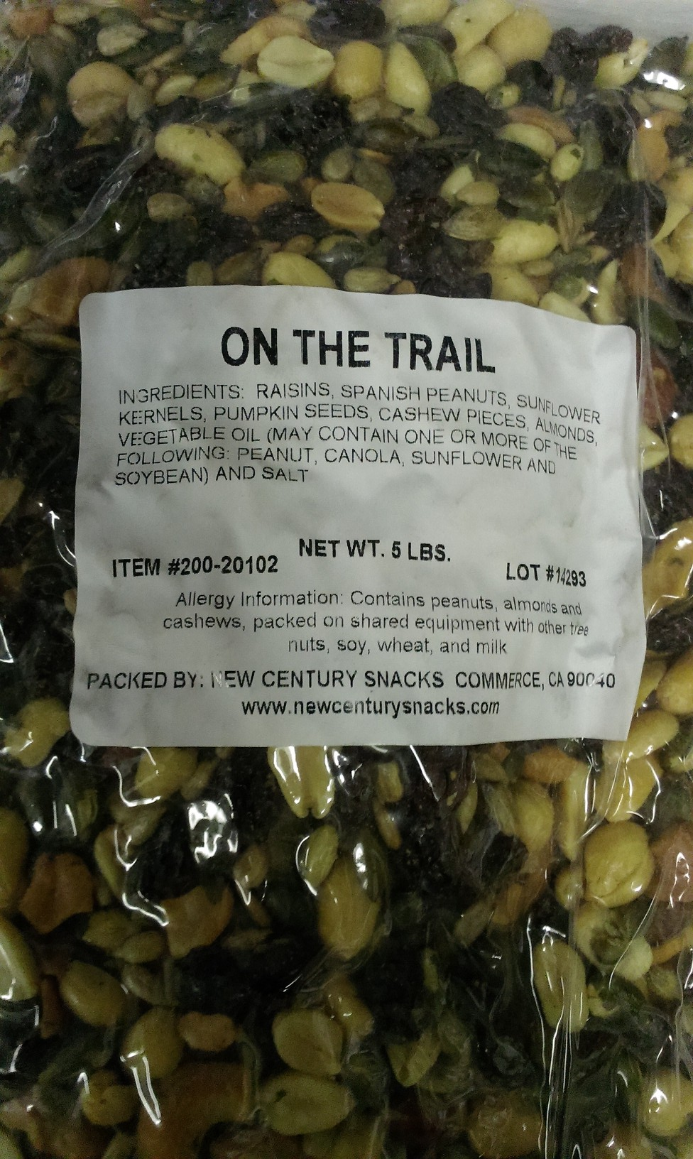 ON THE TRAIL TRAIL MIX