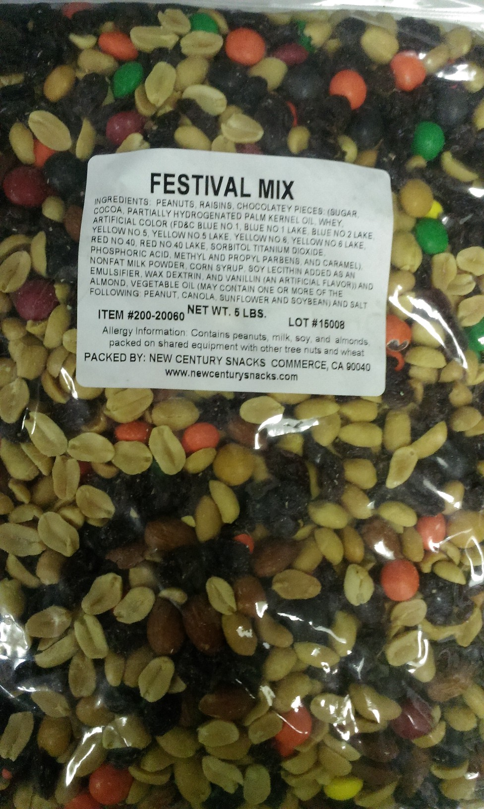 FESTIVAL TRAIL MIX