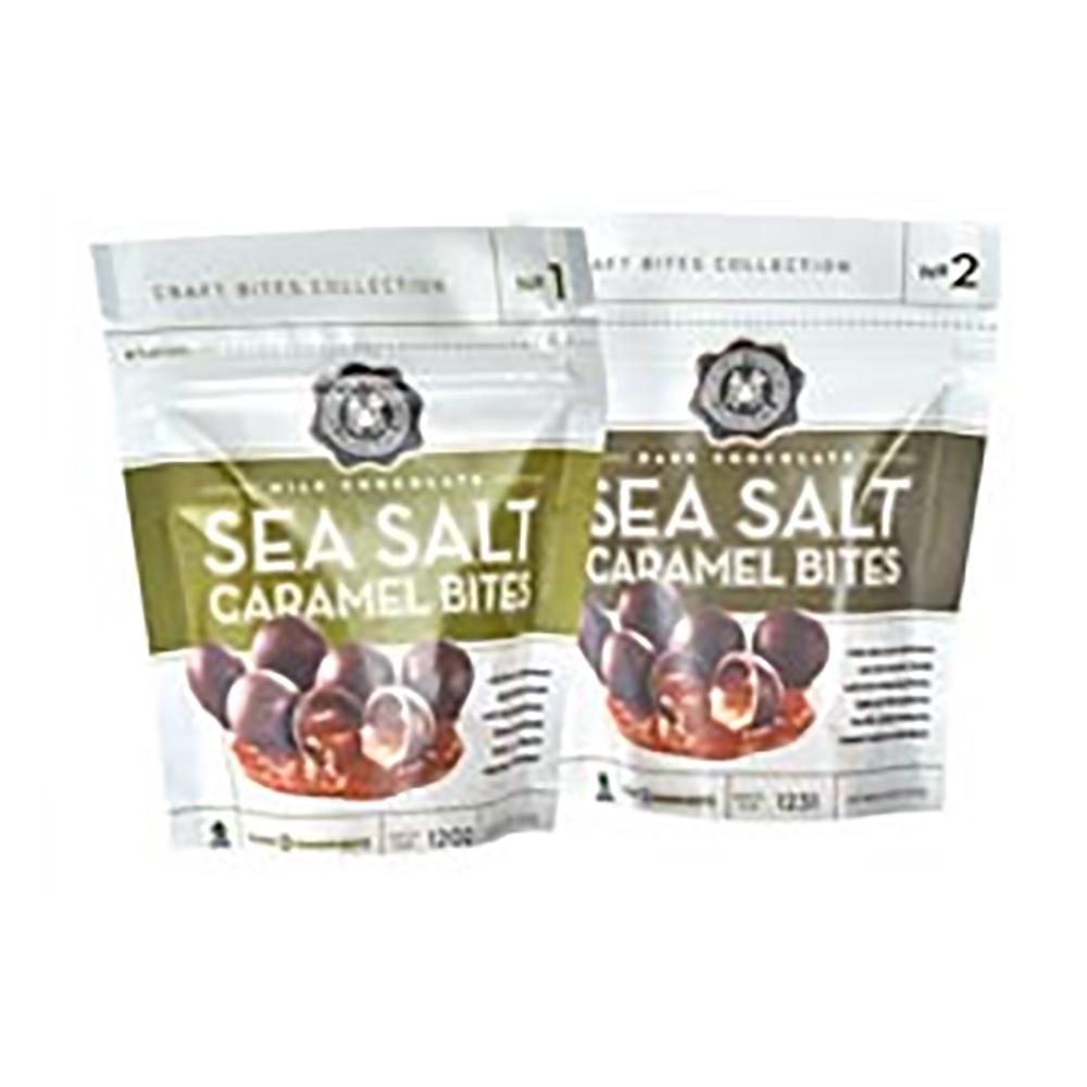 DARK CHOC SEA SALT CARAMEL BITES