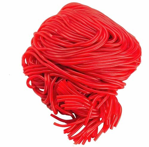 STRAWBERRY LICORICE LACES