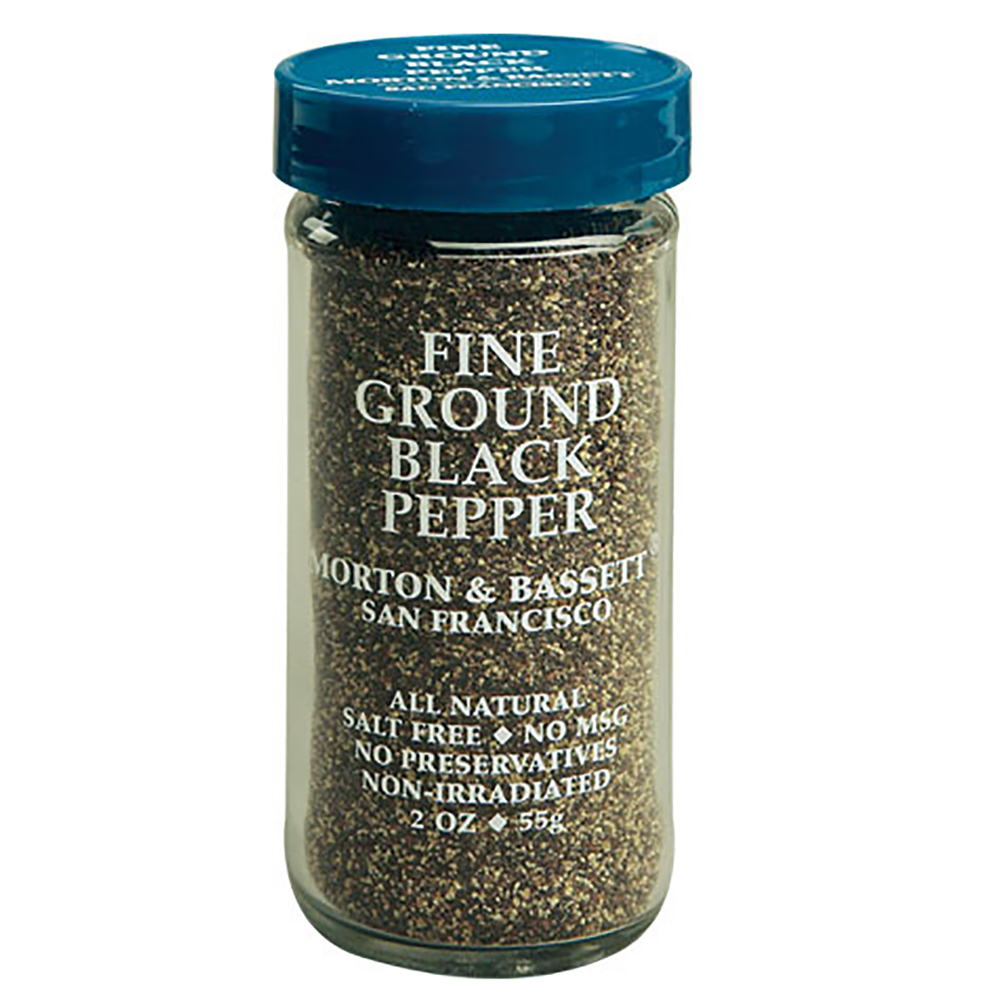 FINE GROUND BLACK PEPPER