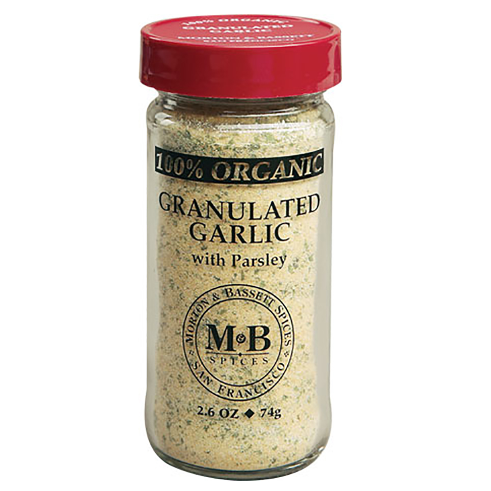 GARLIC GRANULATED ORGANIC