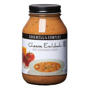 CHEESE ENCHILADA SOUP