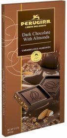 DARK CHOCOLATE BAR WITH ALMONDS