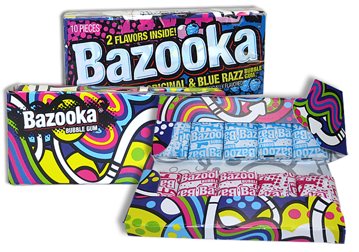 BAZOOKA GUM WALLET PACK