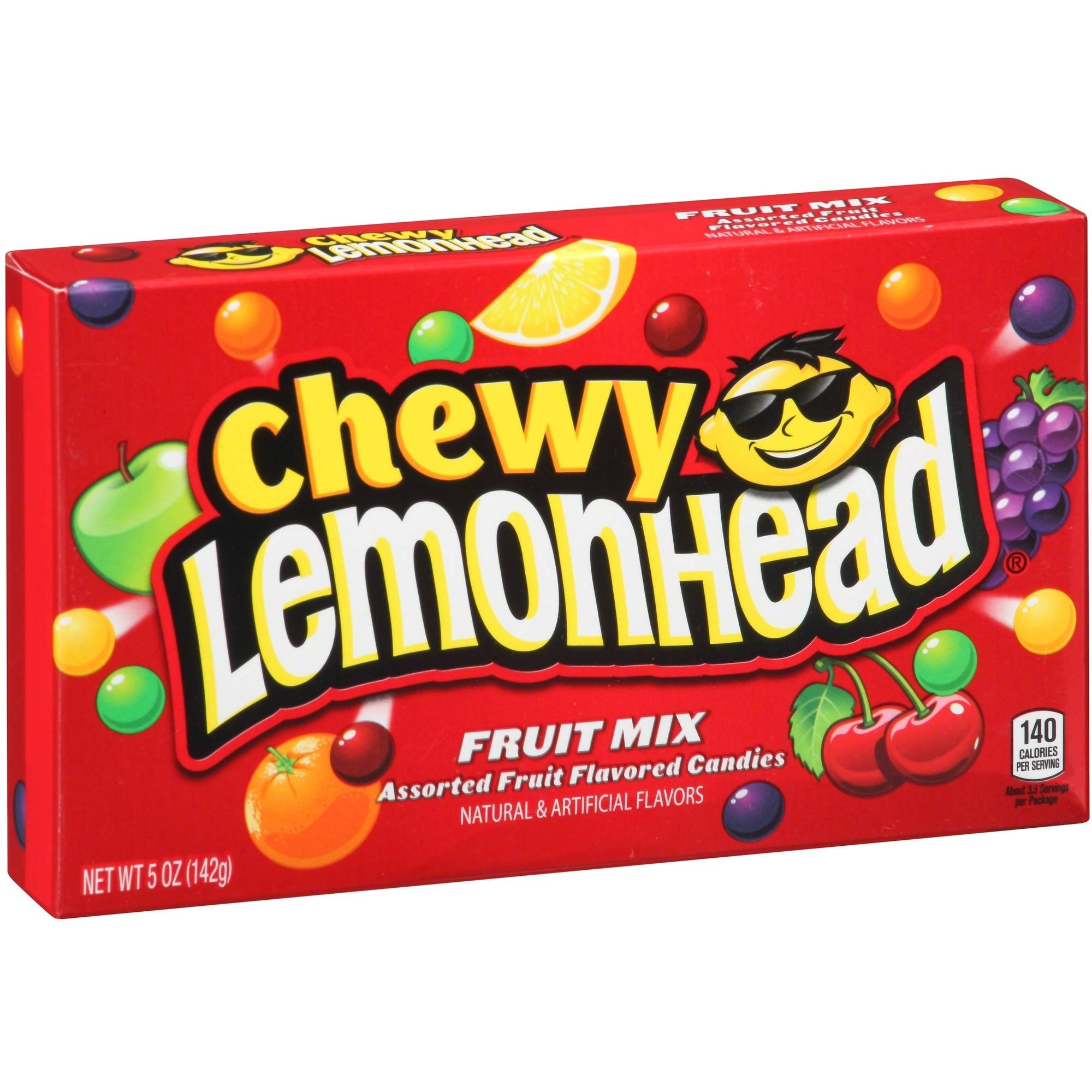 FRUIT MIX CHEWY LEMONHEAD BOX