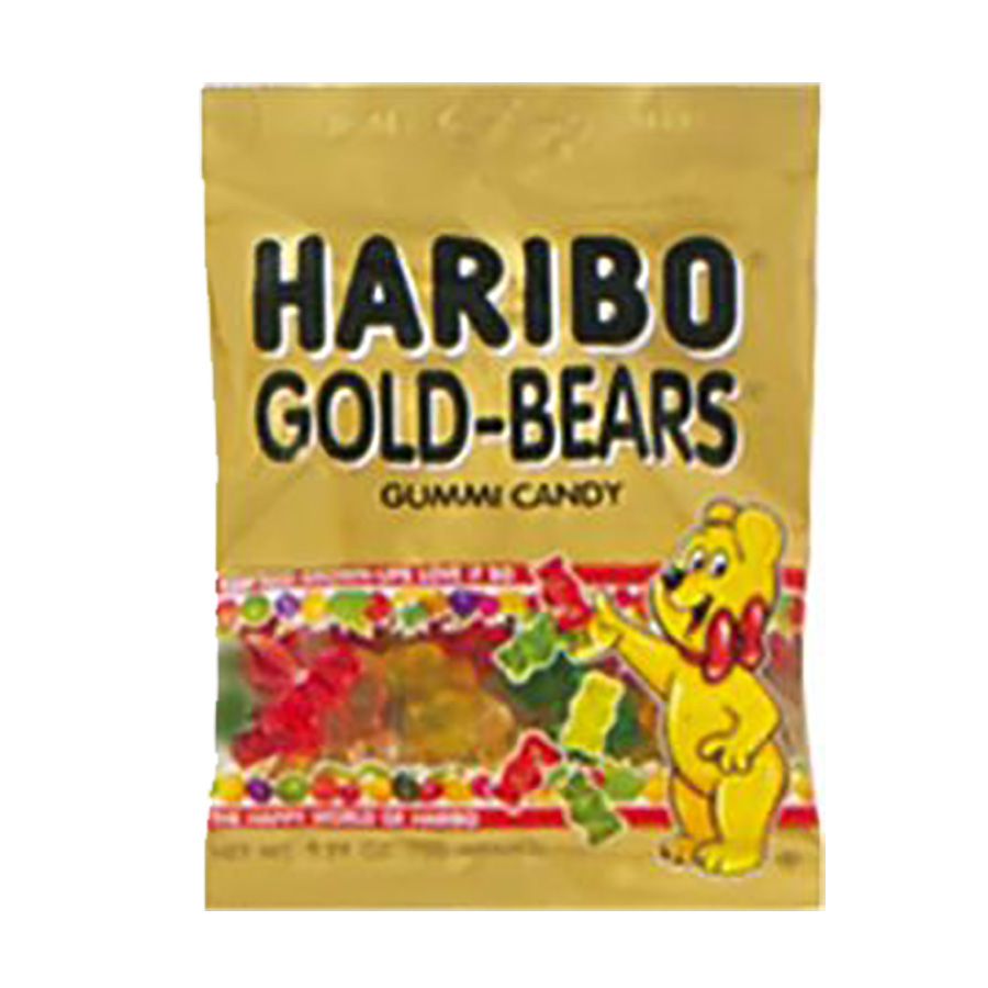 GOLD BEARS BAGS