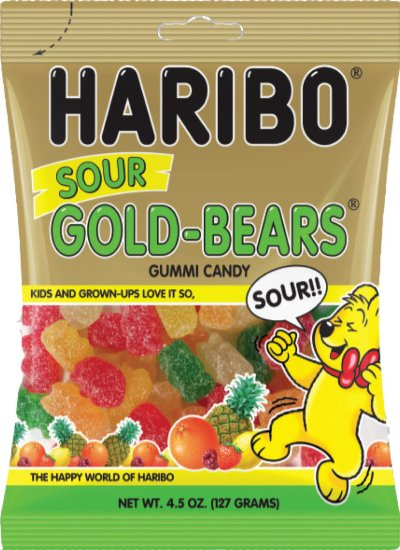 SOUR GOLD BEARS BAG