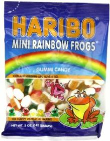 RAINBOW MINI FROGS BAG