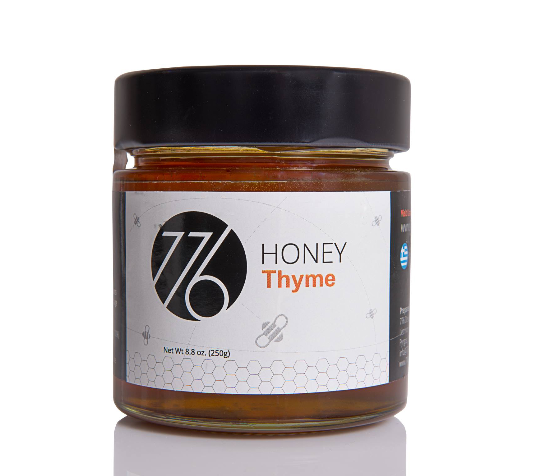 HONEY THYME 100% HONEY JAR