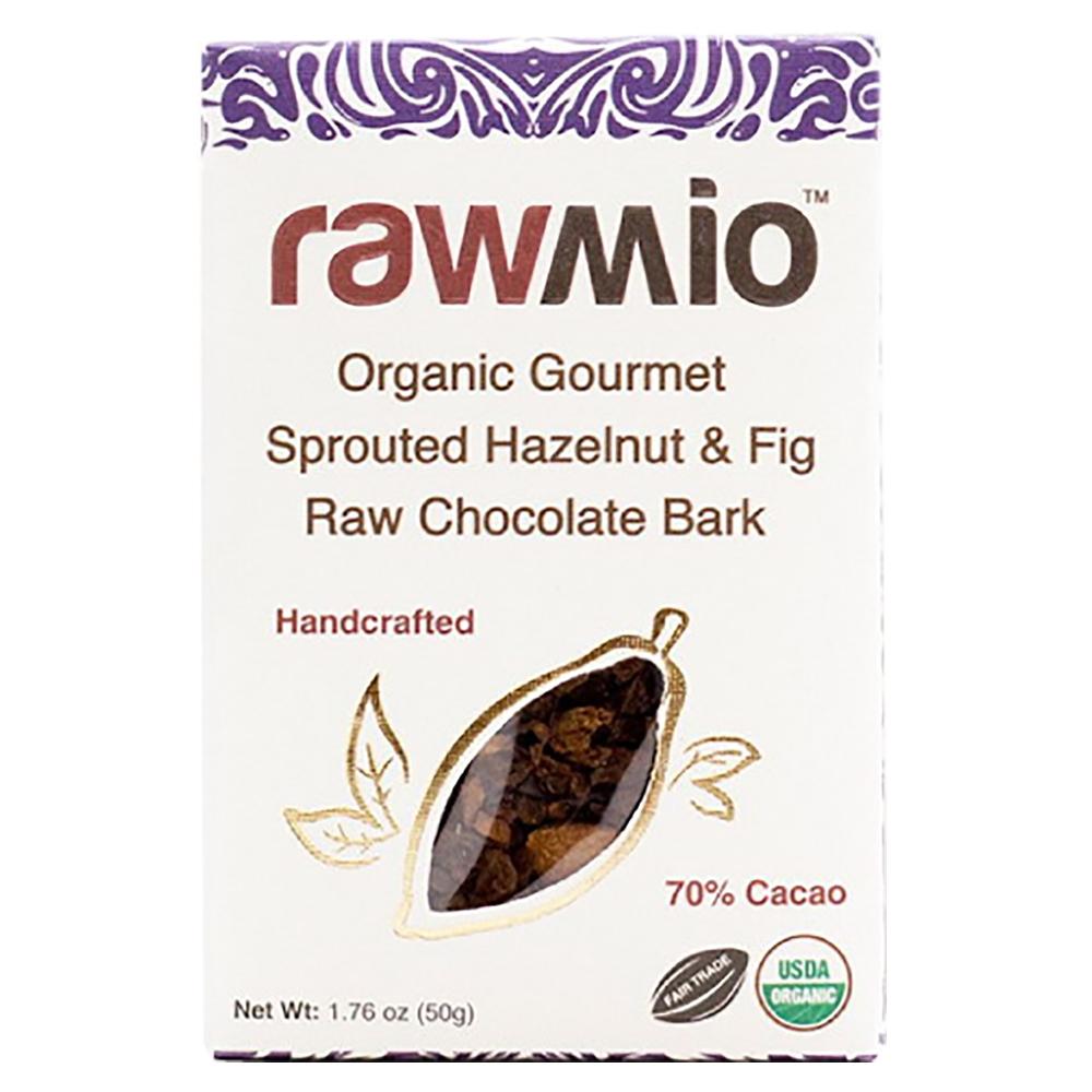 HAZELNUT & FIG RAW CHOCOLATE BARK
