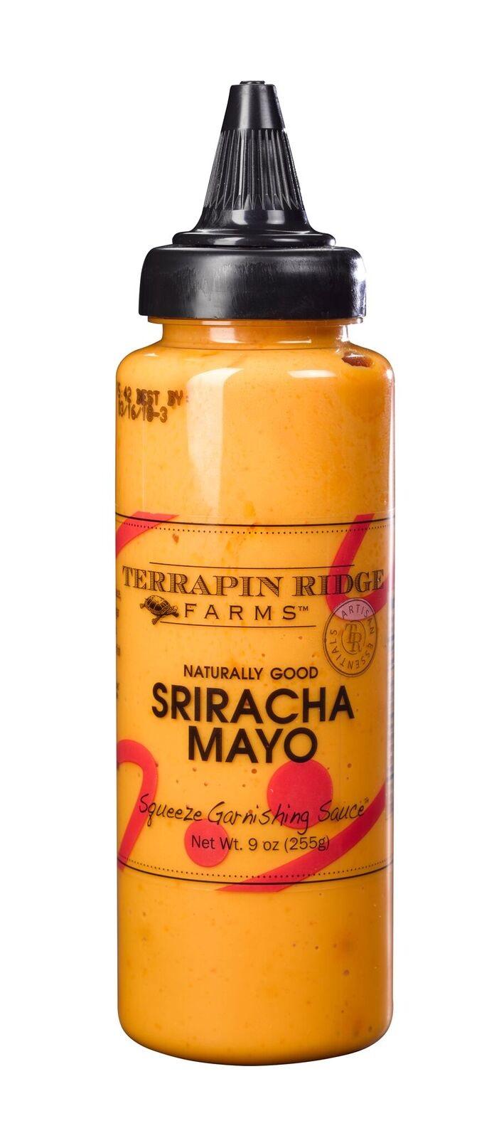 SRIRACHA MAYO GARNISHING SQUEEZE