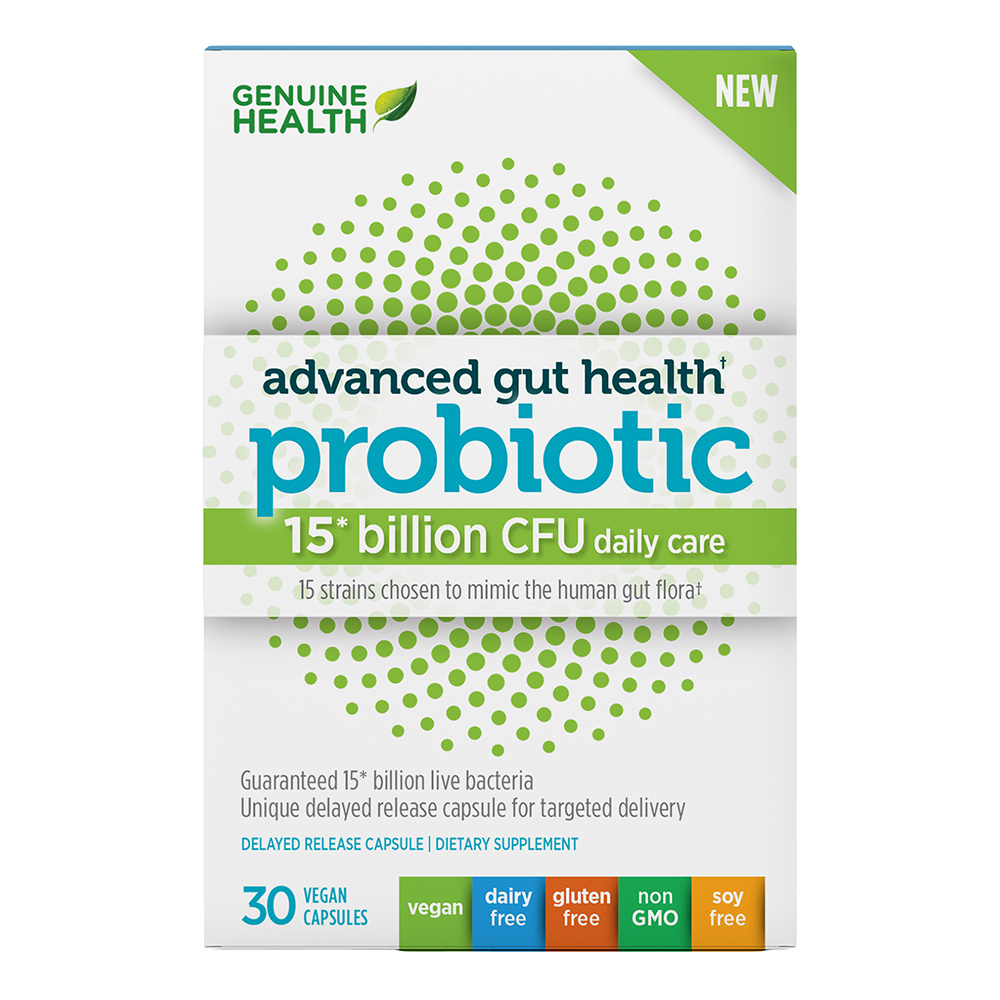 ADV GUT HEALTH PROBIOTIC 15BIL CFU