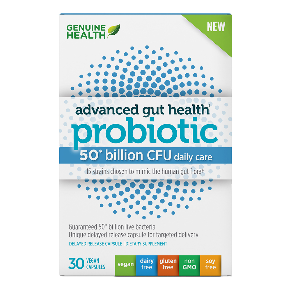 ADV GUT HEALTH PROBIOTIC 50BIL CFU