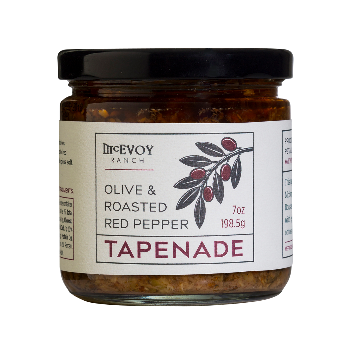 OLIVE & ROASTED PEPPER TAPENADE