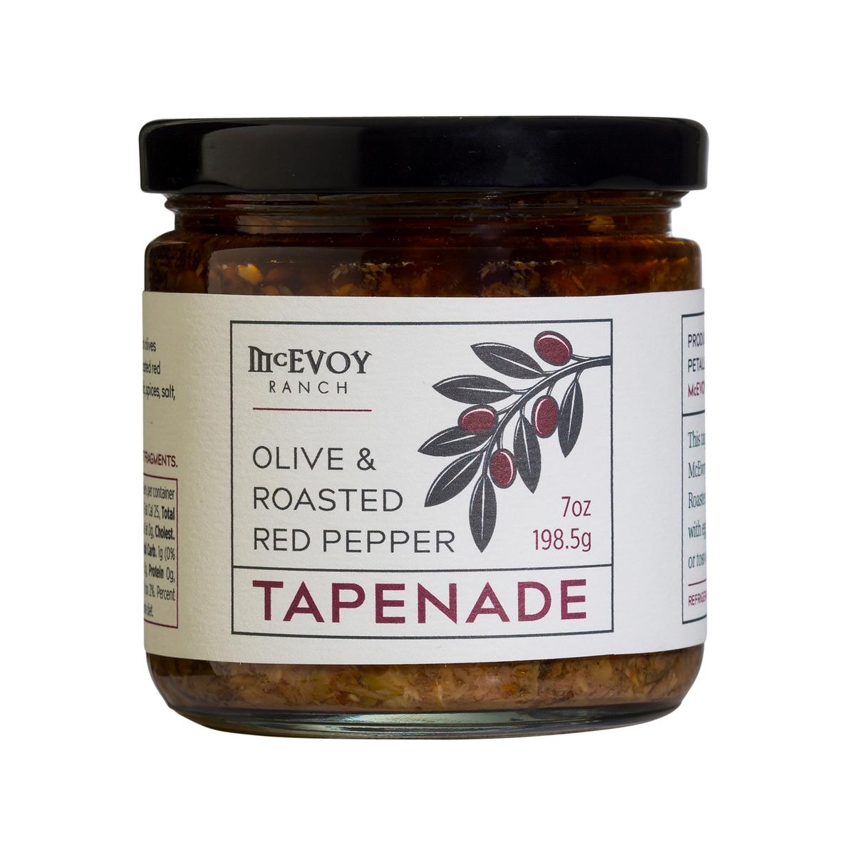OLIVE & ROASTED PEPPER TAPENADE