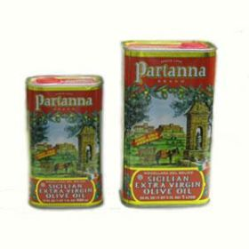 XV OLIVE OIL TIN PARTANNA