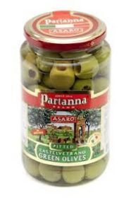 GREEN CASTELVETRANO PITTED OLIVES