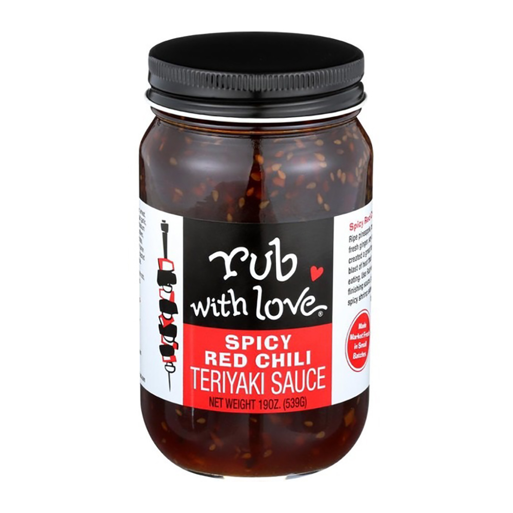 SPICY RED TERIYAKI SAUCE