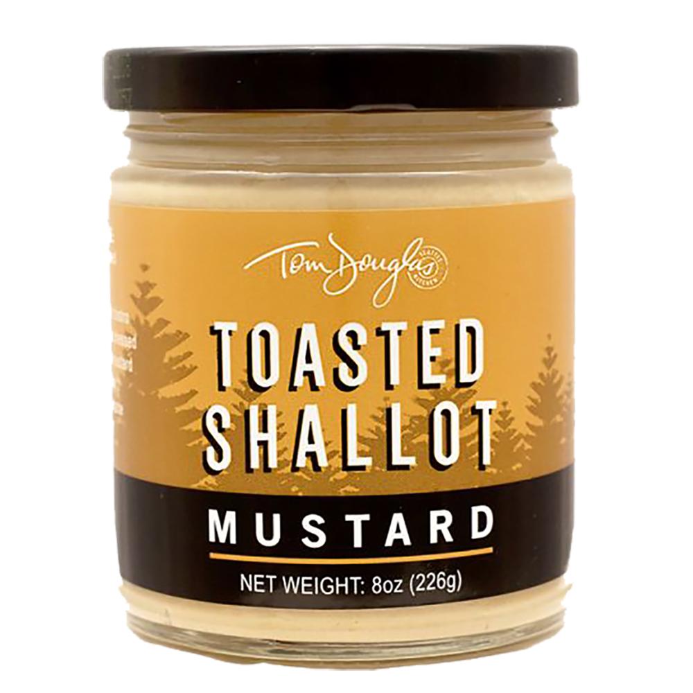 TOASTED SHALLOT MUSTARD