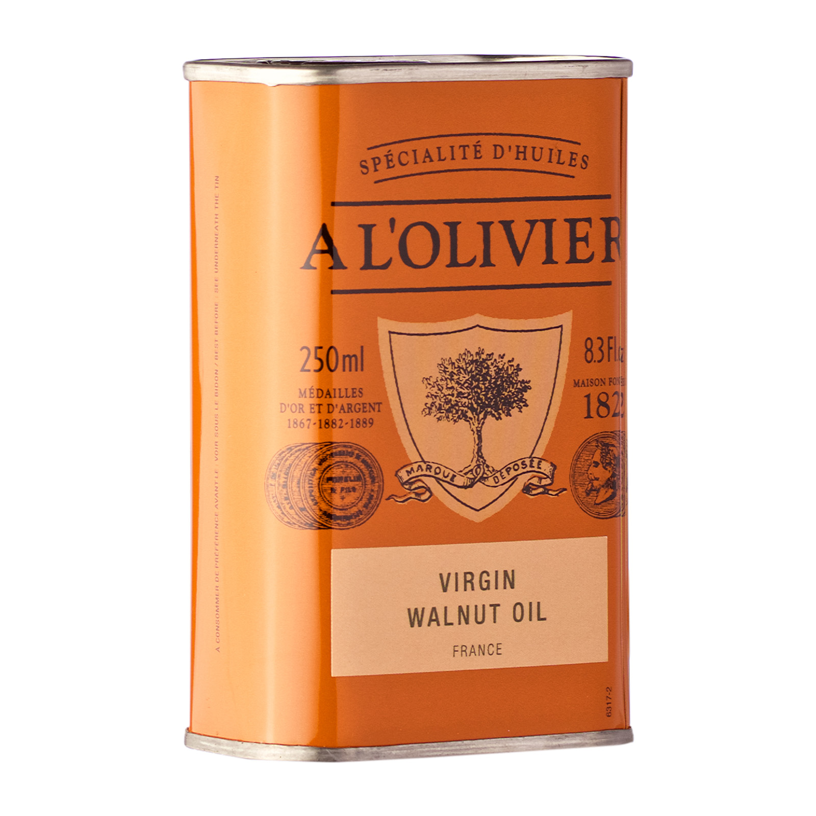 VIRGIN WALNUT OIL TIN