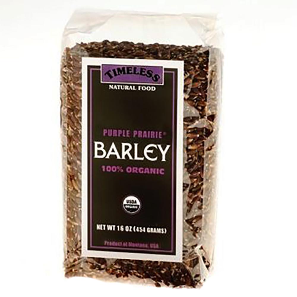SEMI-PEARLED PURPLE PRAIRIE BARLEY