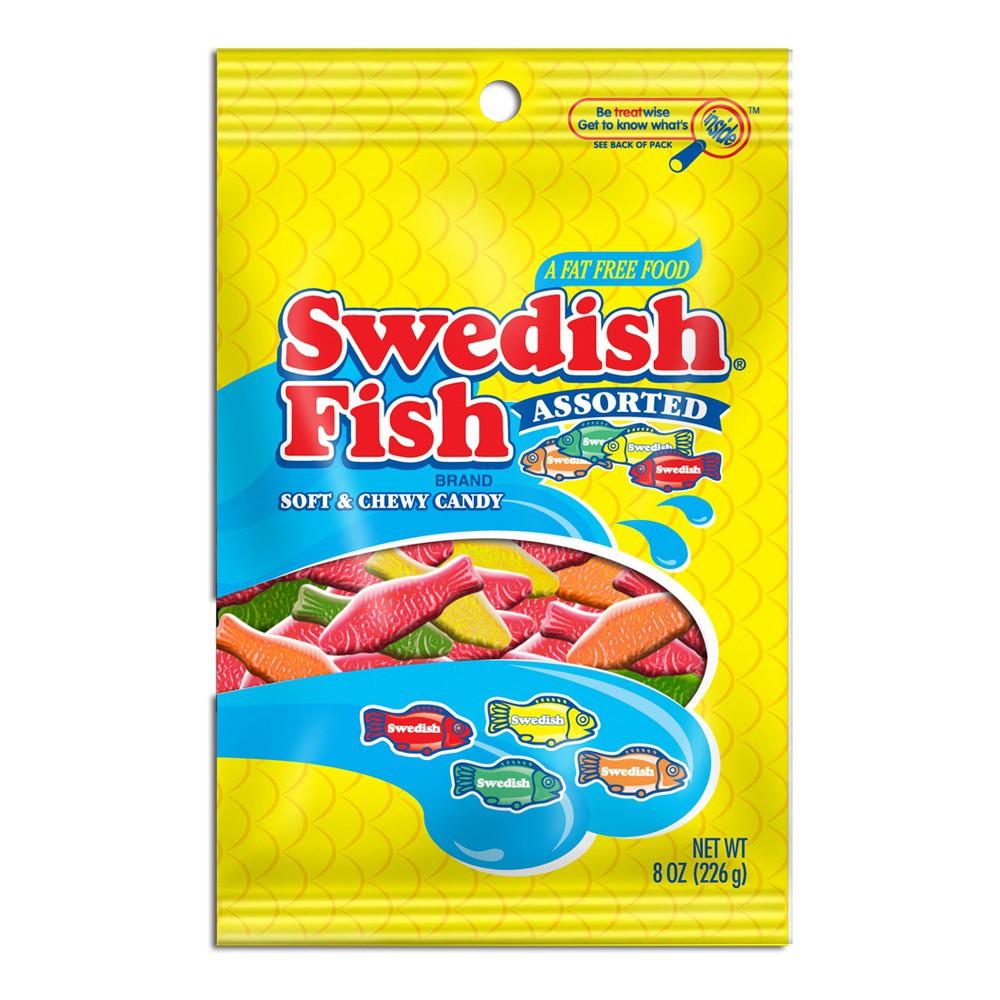 SWEDISH FISH ASTD PEG BAG