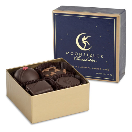 4PC TRUFFLE DARK CLASSIC BOX