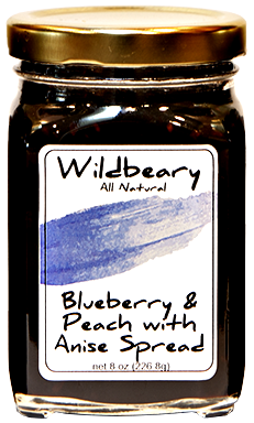 BLUEBERRY & PEACH W/ANISE SPREAD