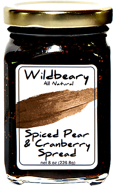 SPICED PEAR & CRANBERRY SPREAD