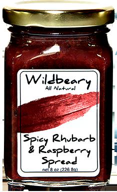 SPICY RASPBERRY & RHUBARB SPREAD