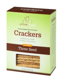 THREE SEED CRACKERS