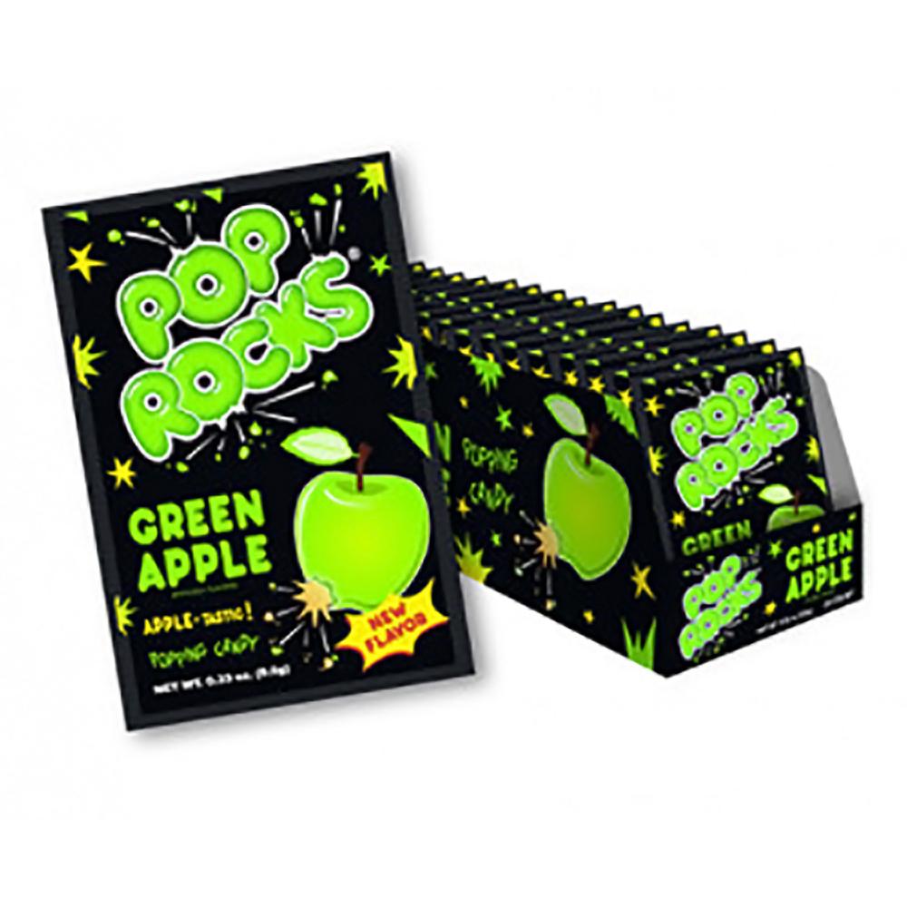 POP ROCKS GREEN APPLE BOX