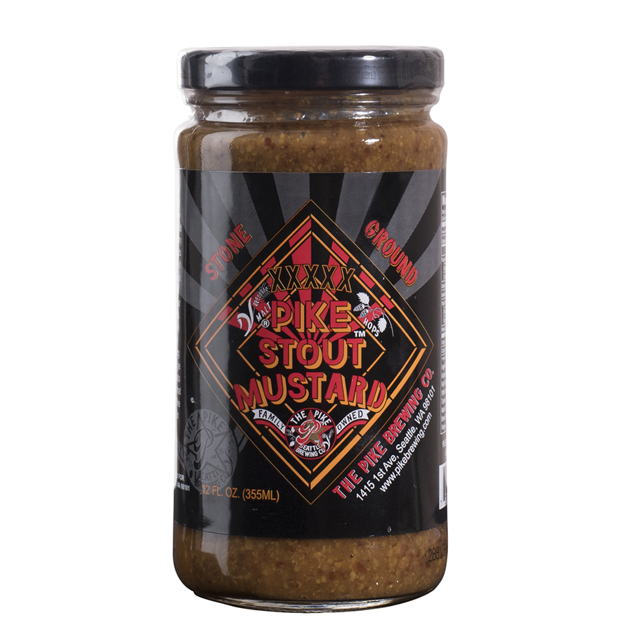 XXXX PIKE STOUT GROUND MUSTARD