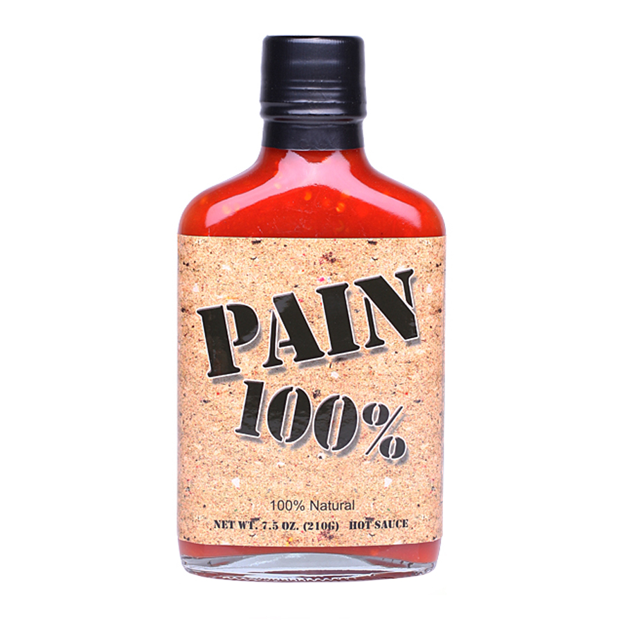 100% PAIN HOT SAUCE