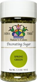SUGAR NATURAL GREEN DECORATING