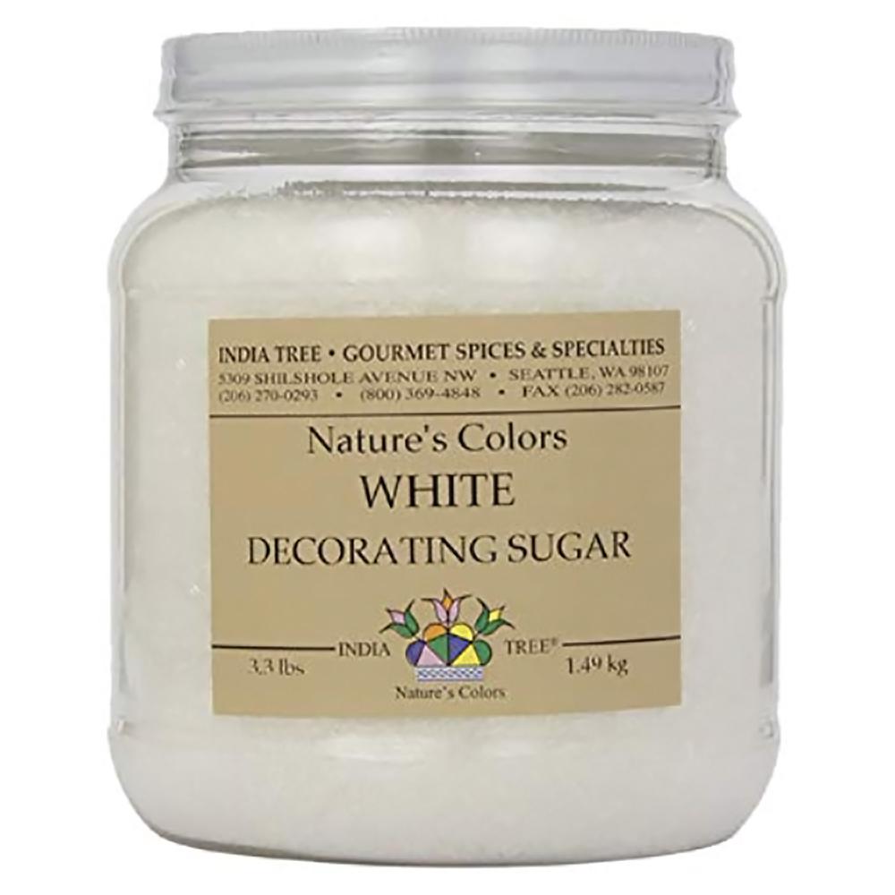 DECORATING SUGAR WHITE NAT