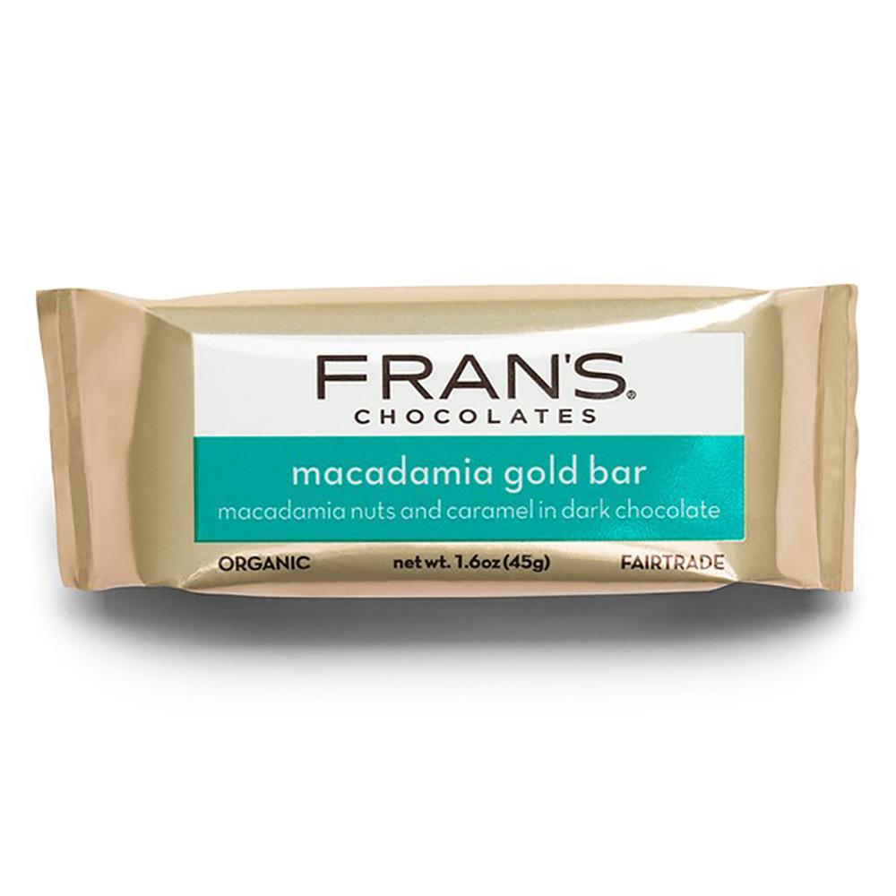 GOLD BAR W/ MACADAMIA NUTS