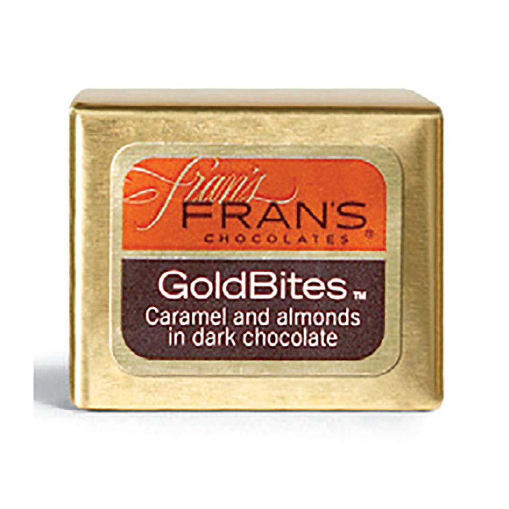 GOLD BITES W/ ALMONDS