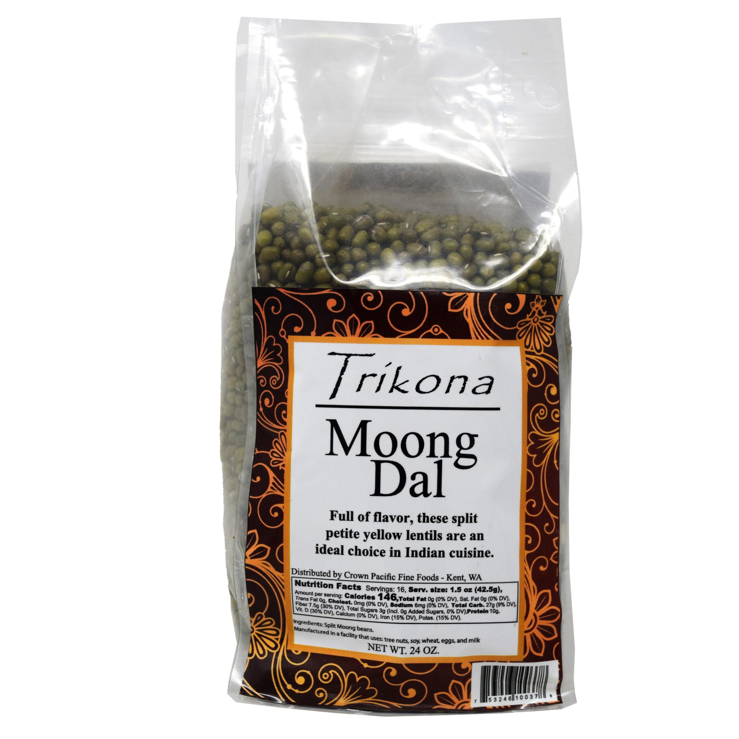 Trikona Moong Dal