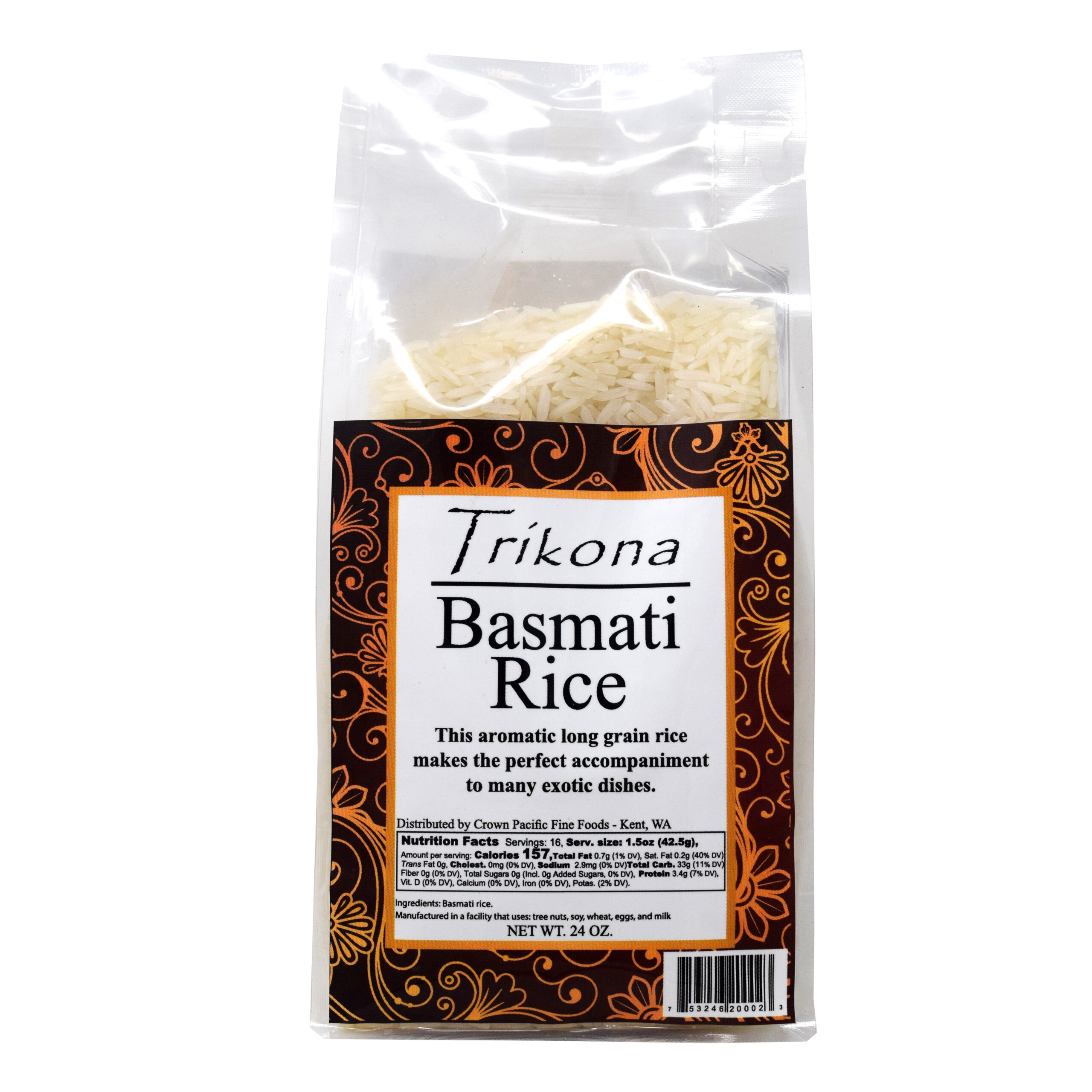 Trikona Basmati Rice
