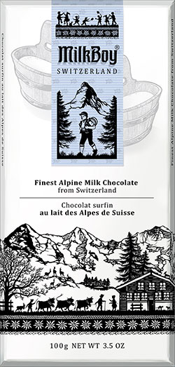 SWISS ALPINE MILK CHOCOLATE