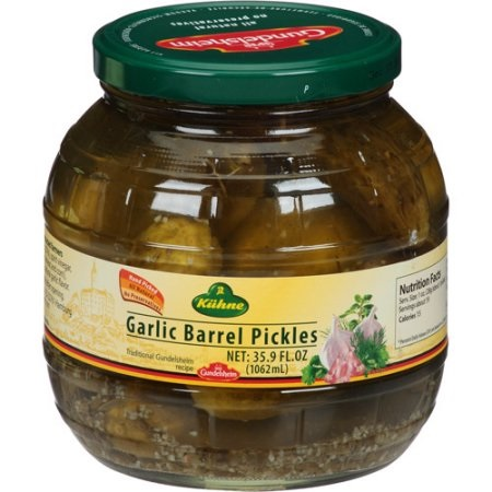 GARLIC PICKLES BARREL