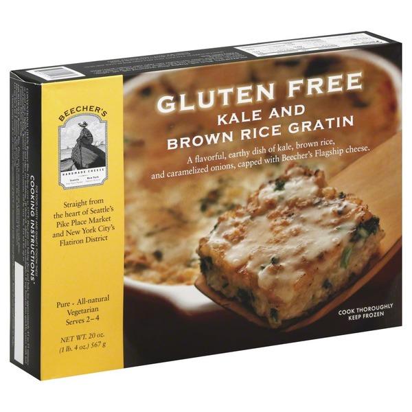 KALE & BROWN RICE GRATIN G/F