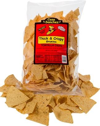 THICK TORTILLA CHIPS
