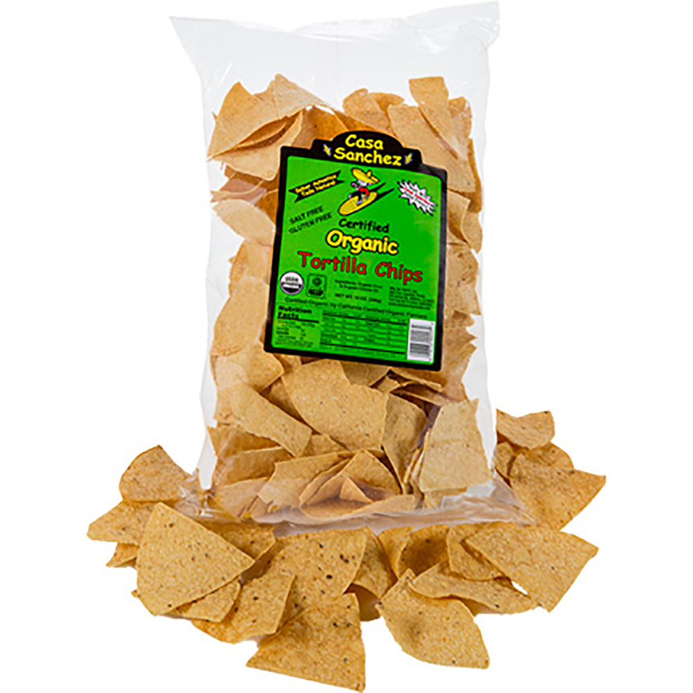 ORGANIC TORTILLA CHIPS