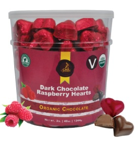 RASPBERRY HEARTS TUB